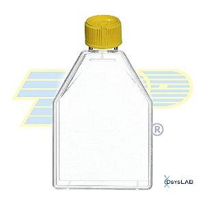 Frasco para cultivo celular 300cm2 (410mL), com filtro, PS, caixa com 18 unidades, mod.: 90301 (TPP)