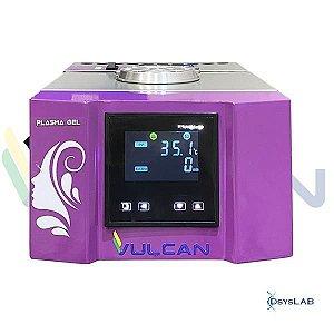 Incubadora plasma gel com aquecimento até 100ºC para 35 seringas, com bloco de resfriamento,bivolt PGABR-BI (Vulcan)