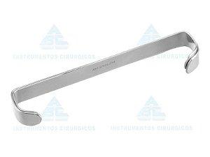 Afastador Farabeuf extra grande, Tamanho 20x180mm, confeccionado em Aço Inox 0499 (ABC)