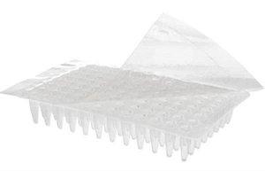 Filme selador em poliéster para vedação de microplacas, Estéril, caixa c/500 unidades, mod.: PCR-SP-S (Axygen)