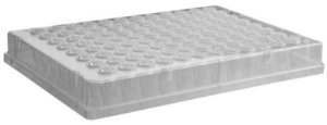 Microplaca de PCR 96 poços, borda completa, caixa c/50 unidades, mod.: PCR-96-FS-C (Axygen)