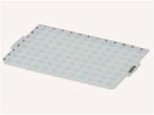Borracha (Tapete) de Compressão em Silicone para Microplacas 96 Poços fundo redondo, caixa c/50 unidades. mod.: CM-96-RD (Axygen)