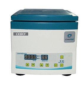 Centrífuga clínica digital, tubos 12x15mL, motor de indução, até 4000rpm, 220V CE801U (Centrilab)