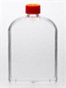 Frasco de cultura celular 175cm² com pescoço em ângulo em forma de U com tampa de ventilação, caixa com 50 unidades 431080 (Corning)
