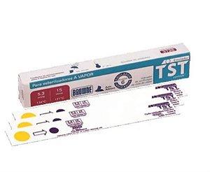 Indicador químico TST Classe 6, Pacote com 4 caixas contendo 25 unidades, mod.: RCJ.00484 (Cristófoli)