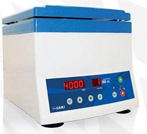 Centrífuga digital até 4000rpm, ângulo fixo, 12 tubos de 15ml, motor por indução, 110V (Daiki)