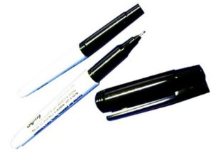 Caneta especial resistente a solventes, autoclavagem e baixa temperatura, cor preta, mod.:EP-51-05031 (Easypath)