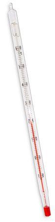 Termômetro químico escala interna, divisão -10+150:1°C, tamanho 260mm 5022 (Incoterm)