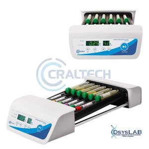 Homogeneizador digital de tubos tipo Roller, até 80 rpm, bivolt HMTR (Craltech)