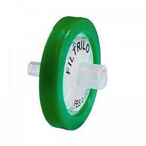 Filtro seringa PES Hidrofílico de 0,22μm x 33 mm (P x D), unidade (Phox)