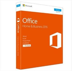 Office 2016 Home&Business Word,Excel,Power Point,Outlook-One Note 1 Licença Microsoft