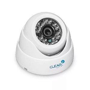 Câmera De Segurança 25m Dome 24 Leds Clear CFTV