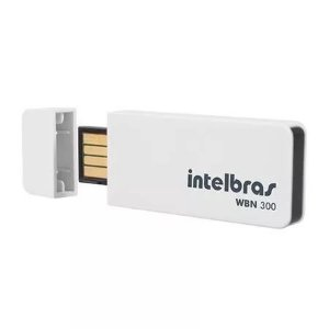 Adaptador USB Wireless Intelbras WBN300 300 Mbps