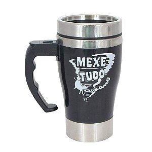 CANECA MIXER QUE MEXE TUDO PRETA 300ML