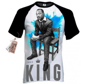 Camiseta Martin Luther King (PRÉ-VENDA)