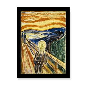 Quadro Decorativo Pintura Edvard Munch O Grito 1893