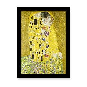 Quadro Decorativo Gustav Klimt O Beijo 1907 Obra