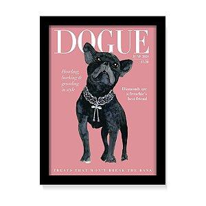 Quadro Decorativo Pet Dog Cachorro Buldogue
