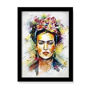 Quadro Decorativo Frida Kahlo Arte Color