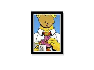 Quadro Homer Simpson Donuts