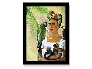 Quadro Frida Kahlo Art