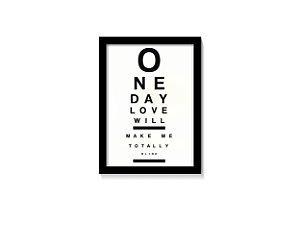 Quadro Love Totally Blind