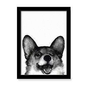 Quadro Happy Dog
