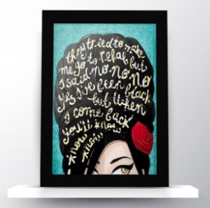 Quadro Amy Winehouse Art