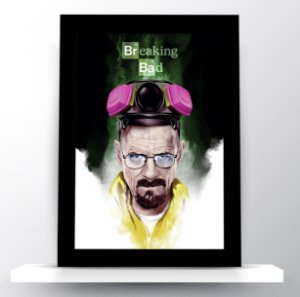 Quadro Breaking Bad - Walter White