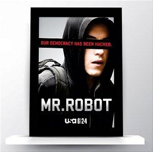 Quadro Mr. Robot