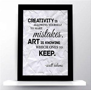 Quadro Creativity & Art - Scott Adams