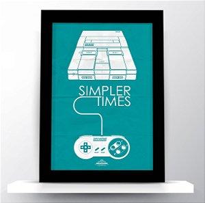 Quadro Simpler Times (Nintendo)