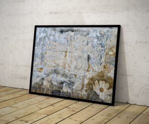 Quadro Abstrato Old Texture