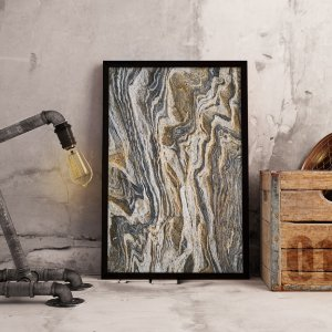 Quadro Abstrato Mármore Romano