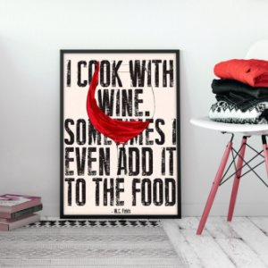 Quadro I Cook With Wine