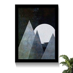 Quadro Geométrico Luar da Montanha