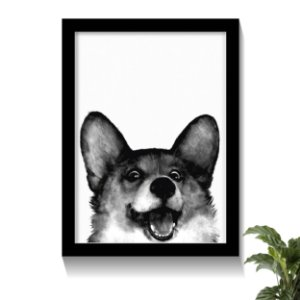 Quadro Happy Dog