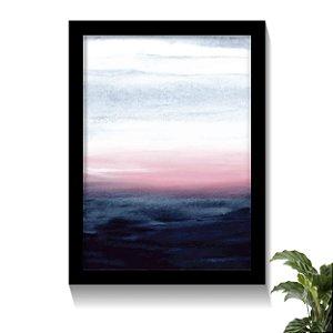 Quadro Pôr do Sol da Praia