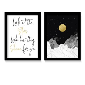 Dueto Quadros Shine Of Stars For you
