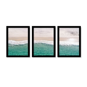 Conjunto Quadros Clean Beach