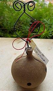 Casa Cerâmica Abelha Solitária Polinizadora Orquideas