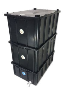 Composteira Doméstica Minhocário - 61 L (1-6 Pessoas)