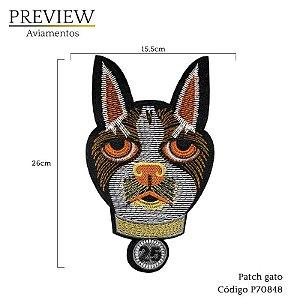 Patch gato c/ 10 unid - P70848