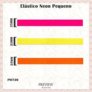 ELÁSTICO NEON / MÍN. 10M / LARG. 25MM - PREÇO DO METRO!