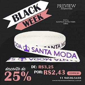 ELÁSTICO SANTA MODA / LARG. 40MM