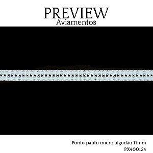 PONTO PALITO MICRO LARG 10MM 100%ALGODÃO