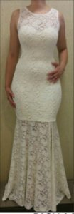 Lindo Vestido Longo Festa Renda Casamento Aniversário