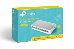 Switch TP-LINK 8 portas 10/100Mbps TL-SF1008D