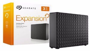HD Externo Portátil Seagate Expansion 3TB USB 3.0 Preto