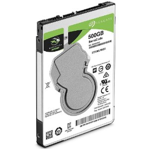 HD Seagate SATA 2,5´ p/ Notebook BarraCuda 500gb 5400RPM